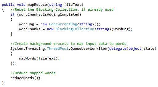 MapReduce Method