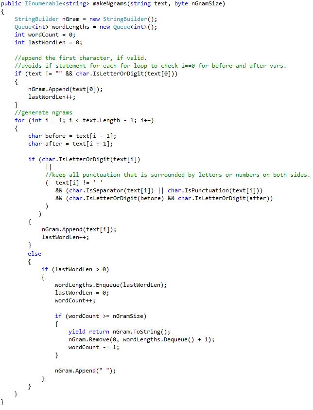 matching tokens program in c