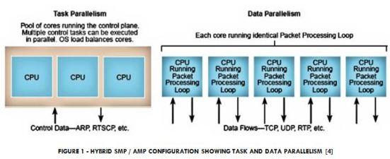 Hybrid SMP / AMP System