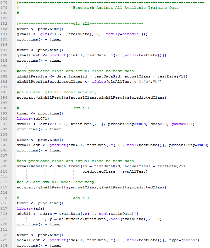 All Train Data Code