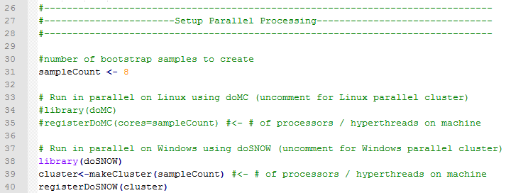 Parallel Setup Example
