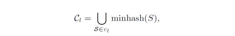 Minhash Signature