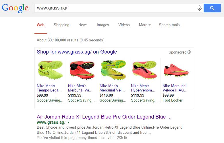 grassGoogleSearch
