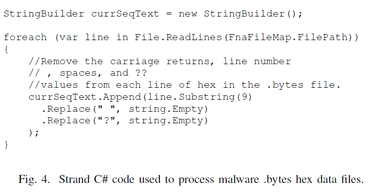 8 Figure 4 StrandCodeChanges